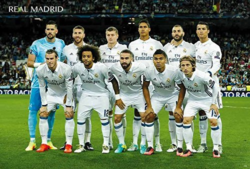 Real Madrid Season 2016-2017 La Liga Soccer Football Sport Poster J-0029