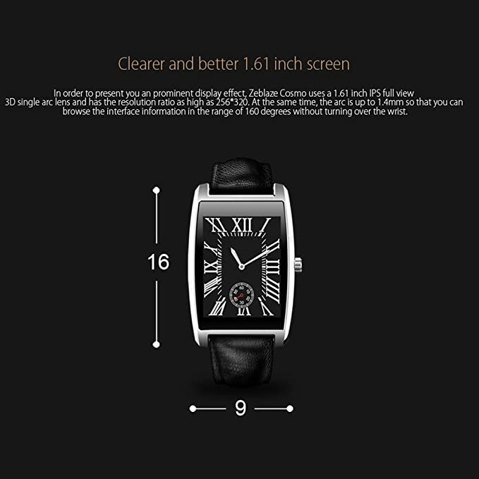 Himanjie – Reloj inteligente Bluetooth reloj de pulsera fit para ...