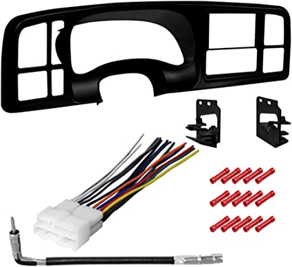 2000-2002 CHEVROLET TAHOE Double DIN Dash Install Kit with Tool Set