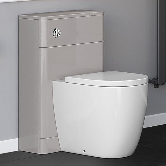 WC suspendido Unidad de cisterna oculta Muebles de baño: iBathUK: Amazon.es: Hogar