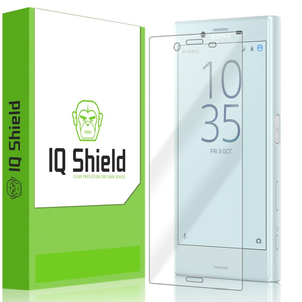 IQ Shield Screen Protector Compatible with Sony Xperia X Compact (F5321) LiquidSkin Anti-Bubble Clear Film