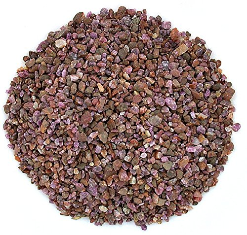 - 1/4 Ounce Natural No Dye India Red Ruby Jewelry Craft Inlay Pieces 4mm & Less