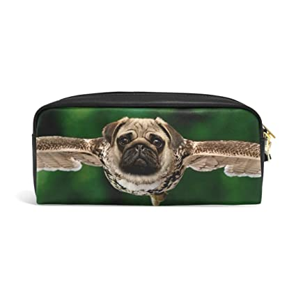 Montoj - Estuche para bolígrafos, diseño de perro carlino ...
