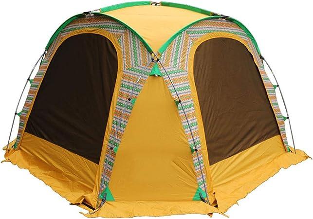 B-D Carpa para Camping con Falda de Nieve, Gran Espacio ...