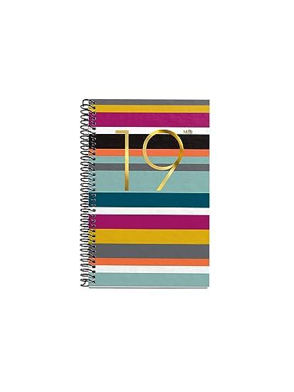 Miquelrius 38099 - Agenda anual día página 2019