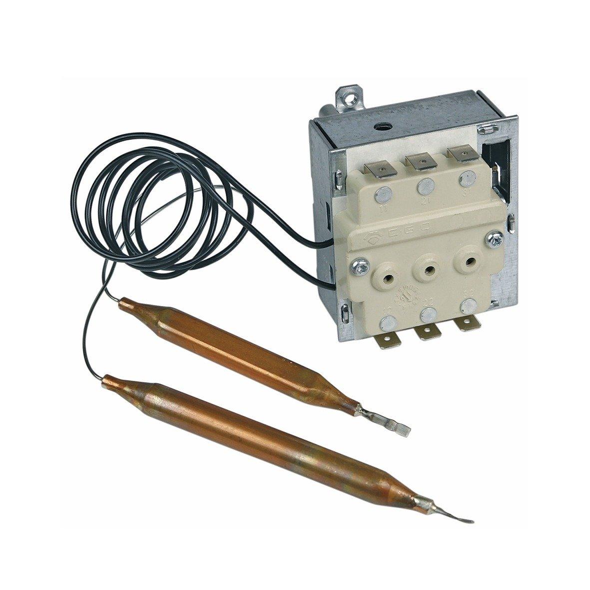 Thermostat Regler Temperaturf/ühler F/ühler Temperaturregler EGO 55.60019.380 Wasserspeicher passend wie AEG Zanker Stiebel Eltron 170925