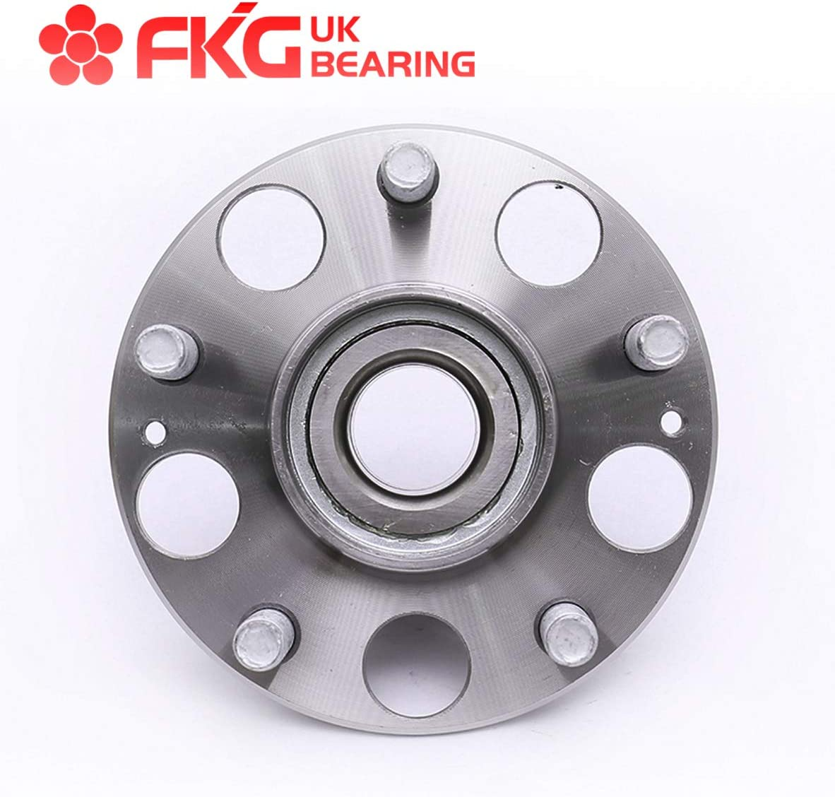 5 Lugs Set of 2 FKG 512188 Rear Wheel Bearing Hub Assembly for 2003-2007 Honda Accord 2004-2008 Acura TL