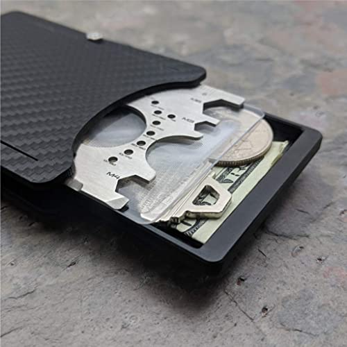 72f0d424ea08 Keeper Wallet Carbon Edition. Includes Tool Card, Keeper/Compartment ...