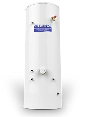 RM 210 Litre Stelflow Indirect Unvented Stainless Steel Hot Water ...