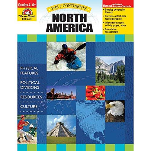 7 Continents: North America, Grades 4-6+