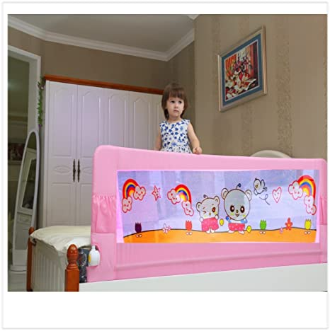 Kiddale Bedrail Long Foldable Safety Guard To Protect Baby Kids Senior Citizen From Side