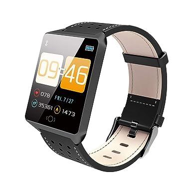 ZZW Reloj Inteligente Bluetooth, Smartwatch con Múltiples ...