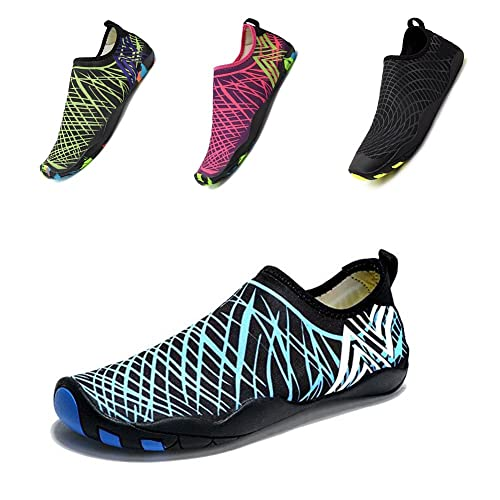 Women Lightweight Water Shoes Quick-Dry Anti-Slip Sole For Indoor Outdoor Exercise