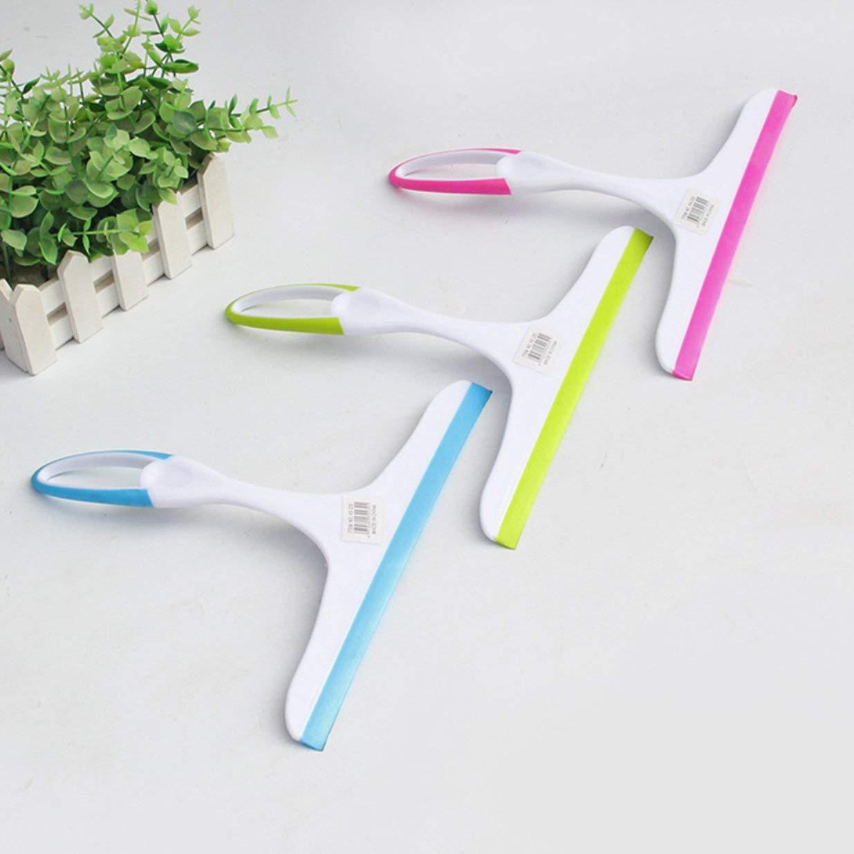 Lightweight Sleek Squeegee Simple Plastic Glass Cleaner Glass Cleaner Bathroom Wall Cleaner Window Glass Scraper Random