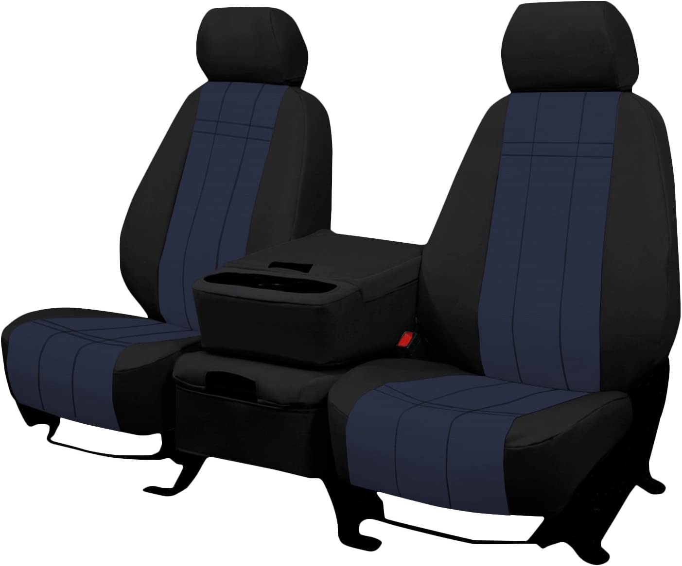 2019-2020 1500 New Body Style in Blue for 40//20//40 Bench with Opening Console and Center Underseat Storage Front Seats: ShearComfort Custom Waterproof Cordura Seat Covers for GMC Sierra