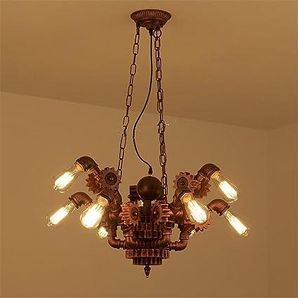 Atmko®Iluminación colgante Lámparas de araña Tubería de agua ...