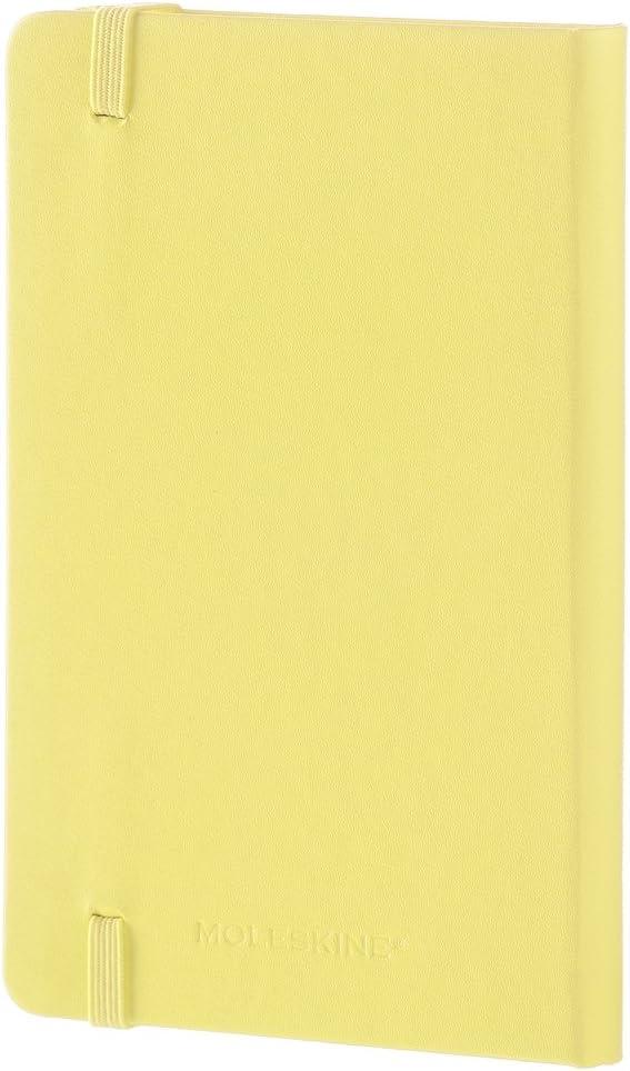 Moleskine taccuino colorato Pagine bianche Tascabile giallo limone