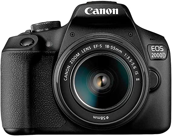 Canon EOS 2000D18-55 IS SEE - La Mejor Cámara Digital del Mercado