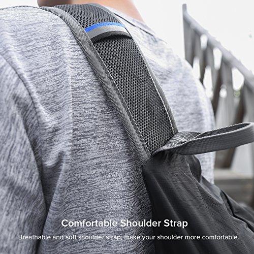 Victure Schultertasche Herren Kleine Sling Tasche Zusammenfaltbar Umhängetasche Leichte Schulterrucksack für Outdoor Sportarten Reisen Wandern