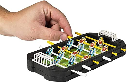 LYATW Juego de fútbol - 1 Mini Mesa de futbolín - Partido de ...