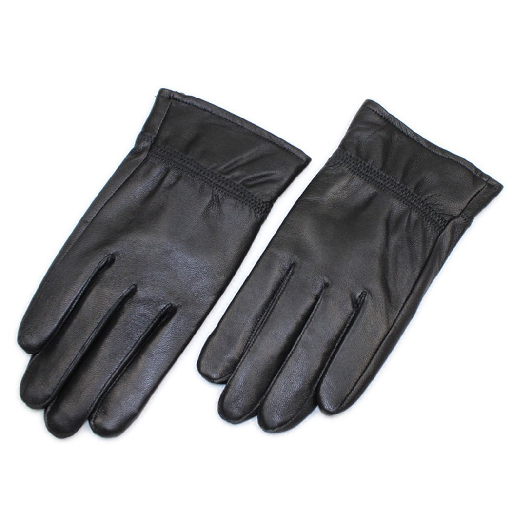 UNbox Mens Nappa Leather Gloves Winter Leather Ather Driving Gloves