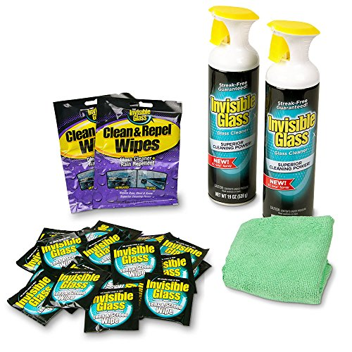 Invisible Glass 99092 35 Piece Home Glass Cleaning Kit, 38.