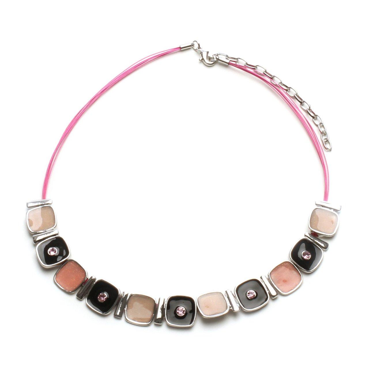 LookLove Women's Jewelry Pink Necklace
