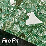 Evergreen Reflective Fire Glass 1/4″ Firepit Glass Premium 10 Pound Great for Fire Pit Fireglass or Fireplace Glass For Sale