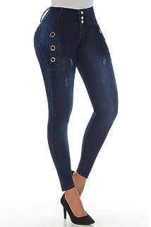 b37f9939a5 KIWI JEANS Pantalones Colombianos Levanta Cola Colombian Jeans Levantacola  1311