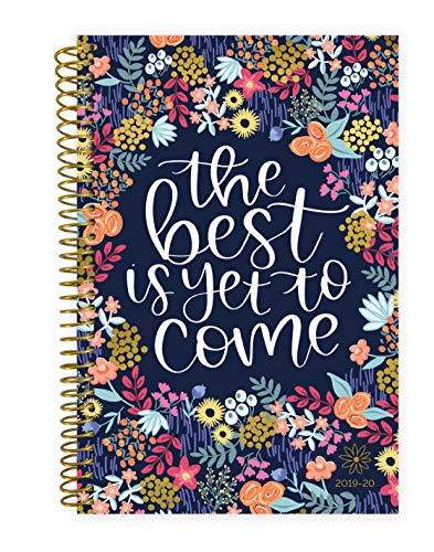 bloom daily planners 2019-2020 Academic Year Day Planner Calendar- Passion/Goal Organizer - Weekly/Monthly Dated Agenda Book - (August 2019 - July 2020) - 6