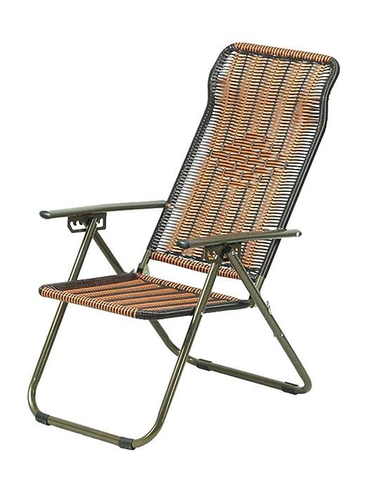 CAOYU Sillas Plegables, sillones de Siesta, sillas de Playa ...