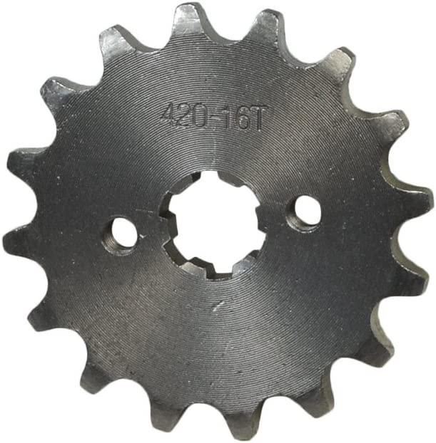 110cc 90c 125cc Pit Dirt Bikes /& ATVs with 17 mm Shaft 16 Tooth Front Sprocket for 50cc 70cc AlveyTech #420 Chain
