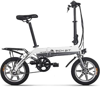 Rico poco Mini bicicleta eléctrica plegable 14 pulgadas Rueda ...