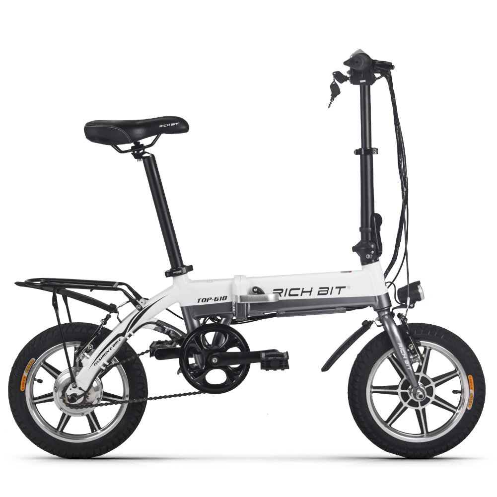 Rico poco Mini bicicleta eléctrica plegable 14 pulgadas ...