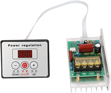 Amazon.com: Speed Control Dimmer Thermostat 8000W AC220V Digital Electronic Regulator High Power SCR Speed Controller Control Motor: Home Improvement