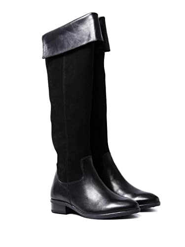 b4264cc6933 CAPRICE Women s Over The Knee Tall Boots - Black Suede