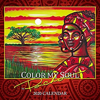 Shades of Color 2020 African American Calendar, Color My Soul, 12 by 12 Inches (20PB)