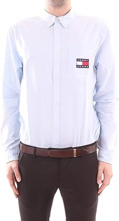 Tommy Jeans - Camisa de manga larga para hombre: Amazon.es: Ropa y accesorios