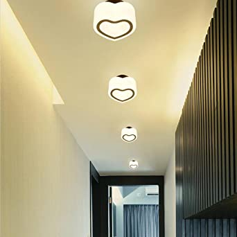 LED Luz de techo 4000K White Light Fitting para pasillo ...