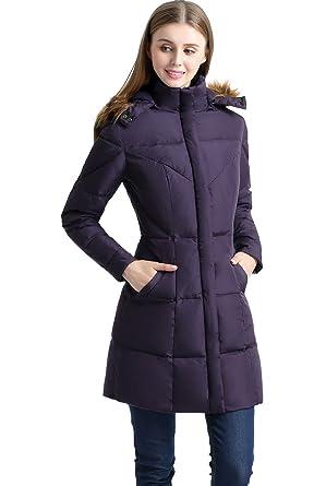 32d6ea019 BGSD Women's Elisa Water Resistant Down Parka Coat (S)