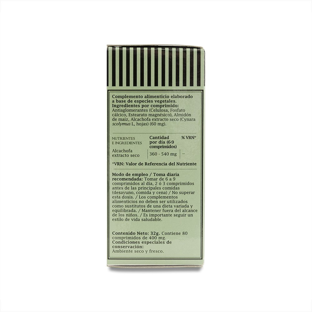 PRONUTRI - PRONUTRI Alcachofa 80 comprimidos: Amazon.es: Salud y cuidado personal