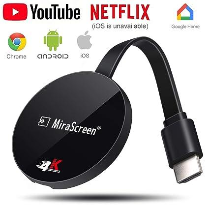 Amazon.com: Adaptador HDMI inalámbrico de 4 K y 1080P para ...