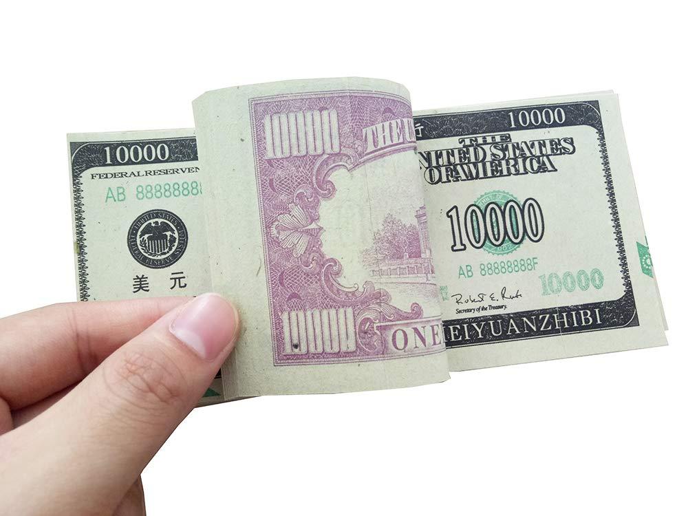 Dollar Ancestor Money Joss Paper Heaven Bank Notes Ghost Money U.S $10,000 USD ZeeStar 240 Pcs Chinese Joss Paper