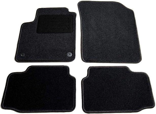 AfC-cLS vW04456 ensemble de tapis de sol noir pour volkswagen up mod/èles /à partir de 2011