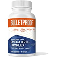 Bulletproof Omega Krill Complex, 1560mg Omega 3 Supplement with EPA, DHA, GLA and Astaxanthin Supports Heart and Brain…
