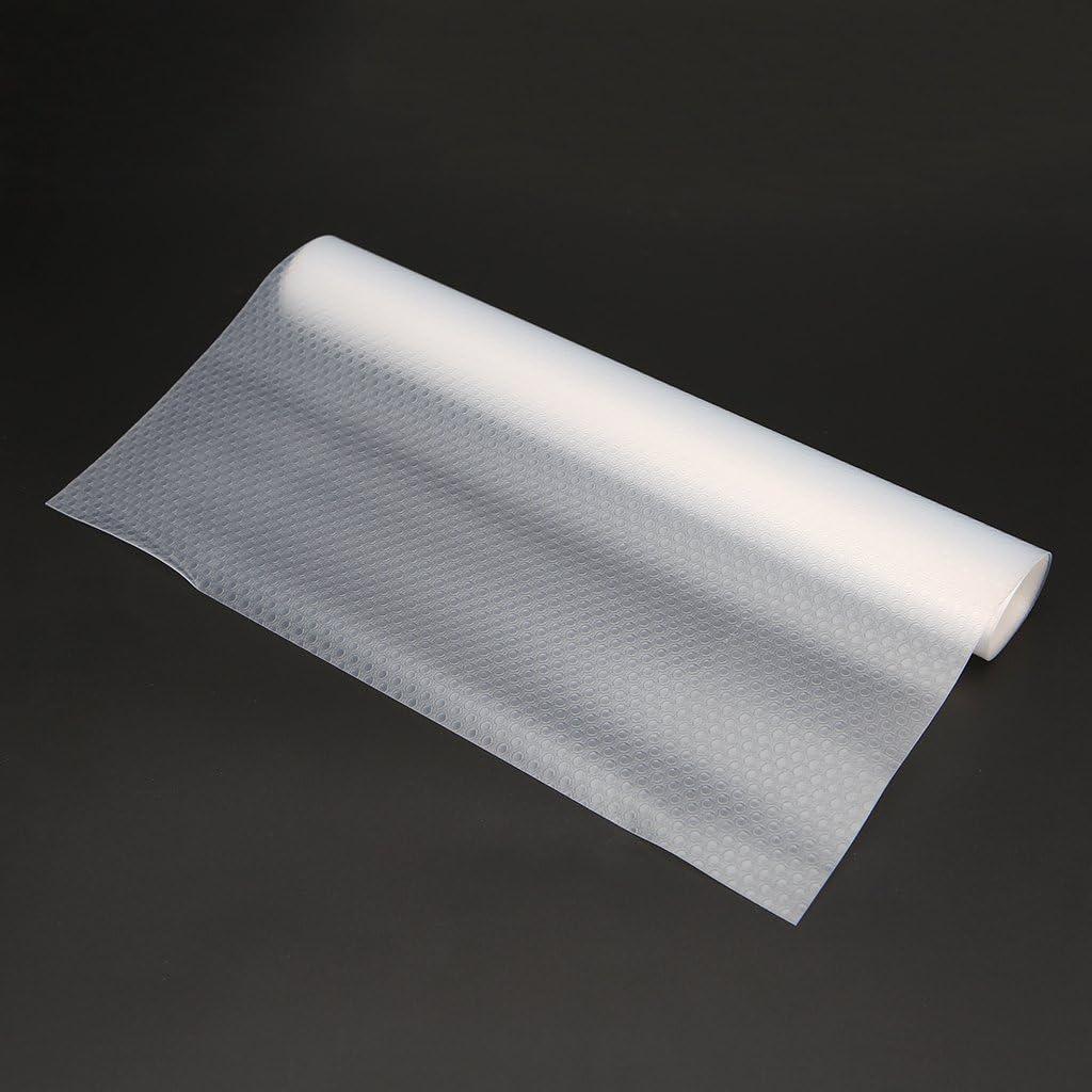 150cm 3-45 Rtengtunn Tapis de Protection de Table darmoire de Tapis de Placard de Cuisine de rev/êtement de tiroir Clair Tapis antid/érapants