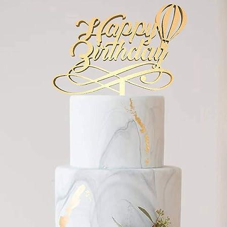 Decoración para tarta con el nombre de una tarta para ...
