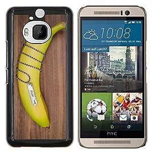 LECELL--Funda protectora / Cubierta / Piel For HTC One M9Plus M9+ M9 Plus -- Plátano Cadena --