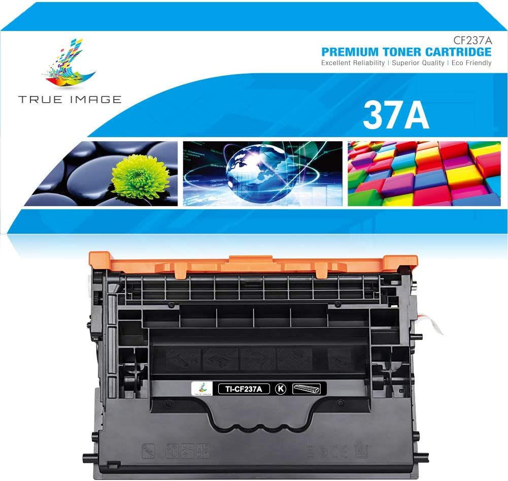 True Image Compatible Toner Cartridge Replacement for HP 37A CF237A 37X CF237X Laserjet Enterprise M632z M607dn M608n M608x M609dh M609dn MFP M631dn M631z M632fht M632h M633z (Black, 1-Pack)