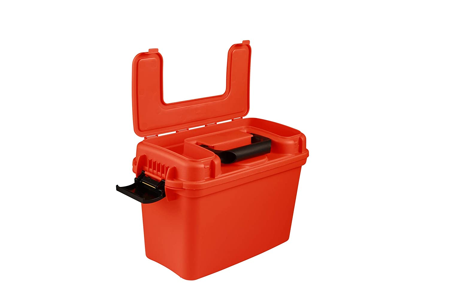 attwood 11834-1 Waterproof Boaters Dry Box Bright Safety Orange attwood 11834-1 Waterproof Boater/'s Dry Box